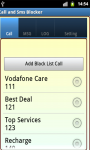 Call and SMS Blocker Free screenshot 2/5