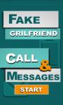 Fake Call GirlFriend and SMS screenshot 1/6