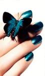 Butterfly Nails Live Wallpaper screenshot 1/3