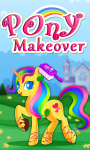 Little Pony Makeover Kids Game screenshot 1/4