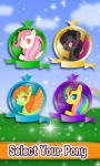 Little Pony Makeover Kids Game screenshot 2/4
