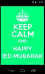 Happy Ied Mubarak HD Wallpaper screenshot 1/6