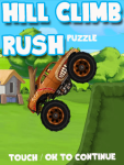 Hill Climb Rush- Free screenshot 3/3