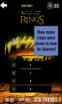 Quiz Lord Of The Rings screenshot 6/6