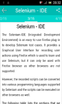 Learn Selenium  screenshot 2/6