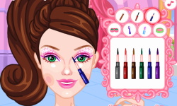 Barbie Super Sparkle Dress Up screenshot 3/4