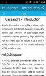 Learn Cassandra screenshot 2/3
