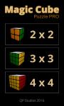 Magic cube puzzle Pro screenshot 1/4
