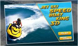 Jet ski Speed Boat King 3d screenshot 1/5