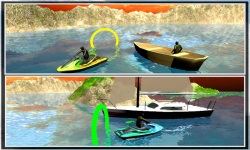 Jet ski Speed Boat King 3d screenshot 3/5