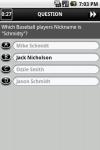 Baseball Ultimate Trivia Challenge screenshot 4/6