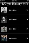 150 Years of World History - HD Snapshots of the Past screenshot 1/1