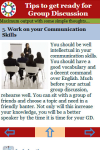 Tips to get ready for Group Discussion screenshot 3/3