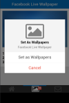 Facebook Live Wallpaper Free screenshot 5/5