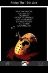 Friday The 13th Live Wallpaper screenshot 4/5