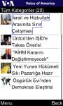 VOA Turkish for Java Phones screenshot 4/6