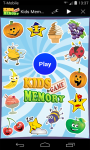 Fun Kids Memory Game screenshot 1/6