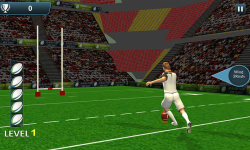 Rugby Flick Kick Shoot 3D screenshot 1/6