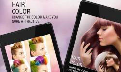 Hair Color Studio screenshot 1/4