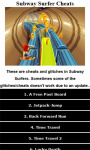 Cheats for Subway Surfers free screenshot 1/3