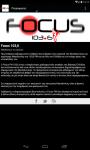 Focus FM Radio screenshot 2/6