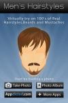 Men's Hairstyles screenshot 1/1