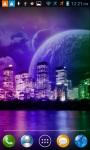 Neon City LWP screenshot 1/4