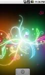 Cool Neon Abstract Live Wallpaper screenshot 2/5