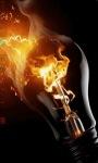 Burning Lamp Live Wallpaper screenshot 2/3