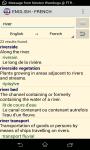 English French Dictionary - Comprehensive screenshot 2/3