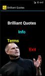 Brilliant Quotes N Saying screenshot 2/4