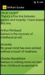 Brilliant Quotes N Saying screenshot 4/4
