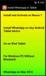 Install Whatsapp in Tablet screenshot 3/3