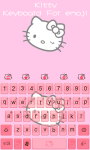 Kitty Theme -Emoji Gif Keyboard screenshot 3/5
