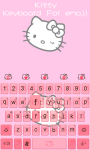 Kitty Theme -Emoji Gif Keyboard screenshot 4/5