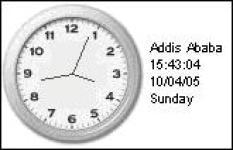 World Clock screenshot 1/1