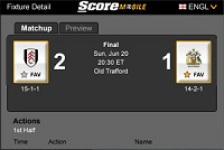 ScoreMobile FC screenshot 1/1