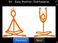 Yoga Poses and Exercises screenshot 1/2