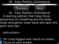 Yoga Poses and Exercises screenshot 2/2