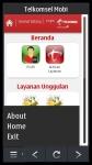 Telkomsel Mobi Symbian 3 screenshot 2/2