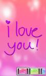 I Love You:Cute Live Wallpaper screenshot 1/3