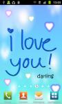 I Love You:Cute Live Wallpaper screenshot 2/3