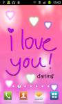 I Love You:Cute Live Wallpaper screenshot 3/3