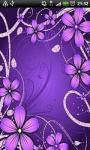 Purple Flowers Animated screenshot 1/1