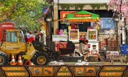 Free Hidden Object Game - Lost in Town  screenshot 3/4