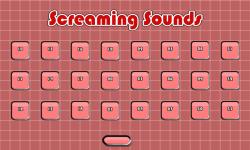 Screaming Sounds HD screenshot 2/3