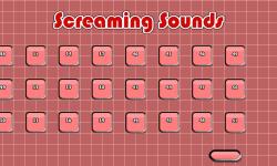 Screaming Sounds HD screenshot 3/3