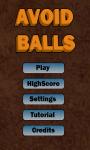 Avoid Balls 2 screenshot 1/4