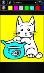 Cats coloring pages screenshot 1/4