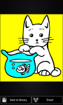Cats coloring pages screenshot 4/4
